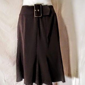Dalia collection brown skirt size 12